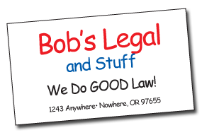 BobLegal Do the FONTS You Choose Contain Important Information? portland wordpress