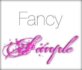 FancySimple Do the FONTS You Choose Contain Important Information? portland wordpress